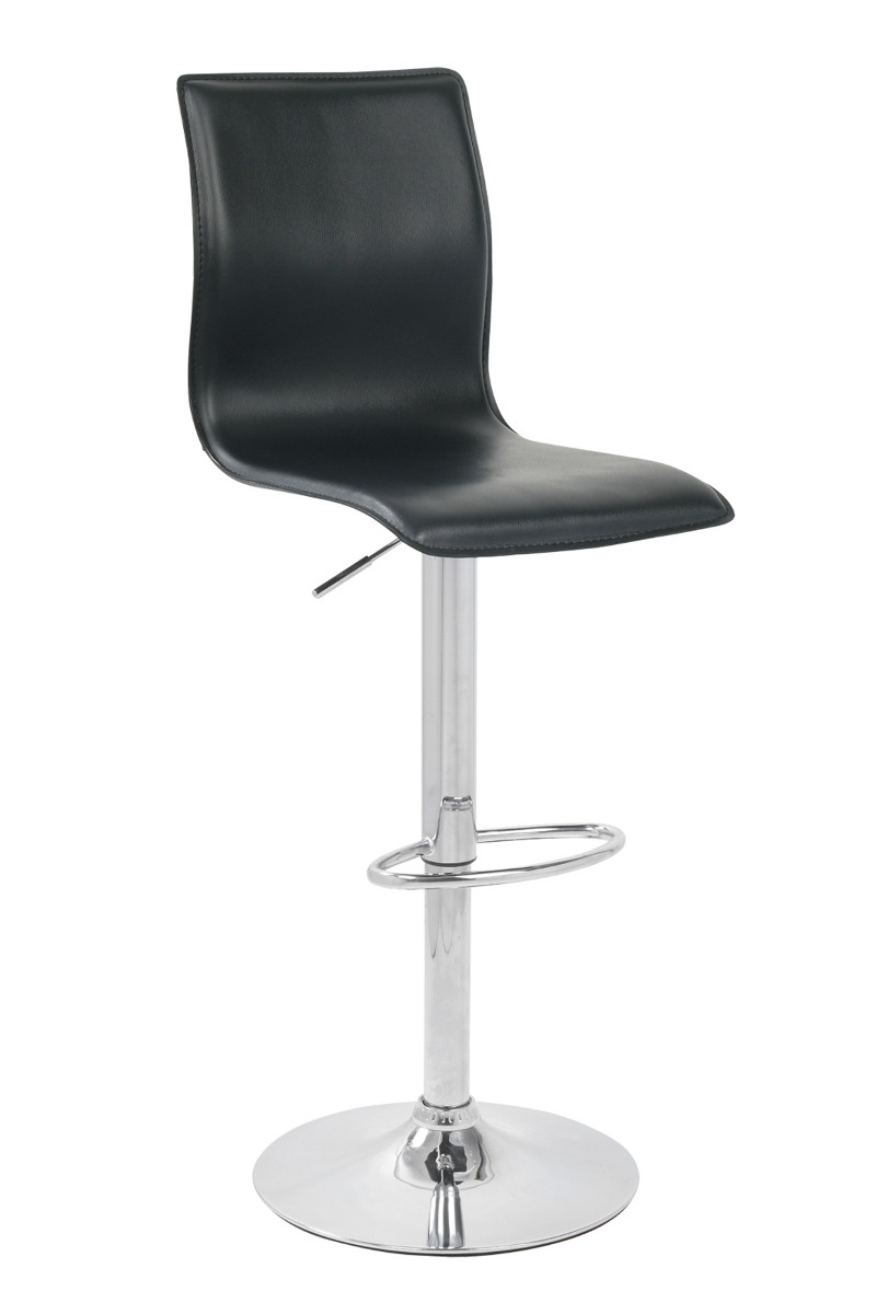 An image of Giola Kitchen Stool Black
